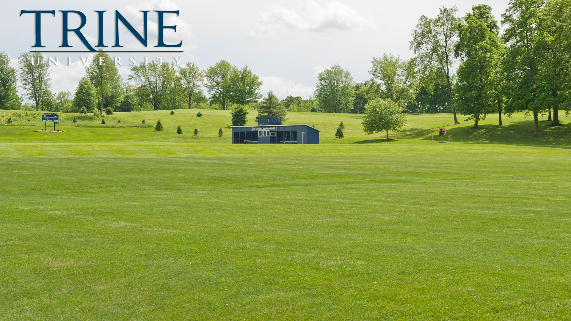 Soccer fields at Trine University