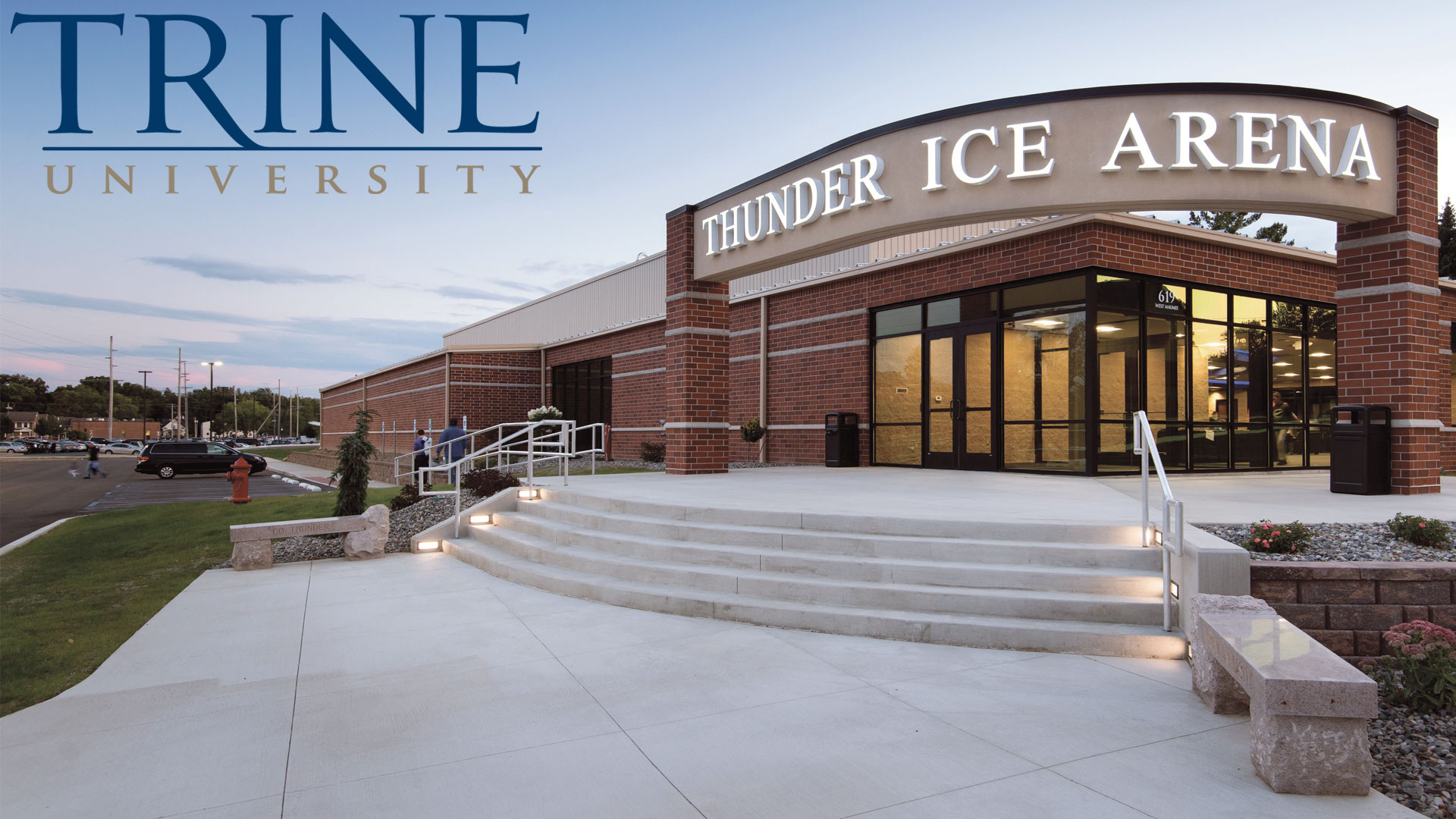 Outside photo of Thunder Ice Arena