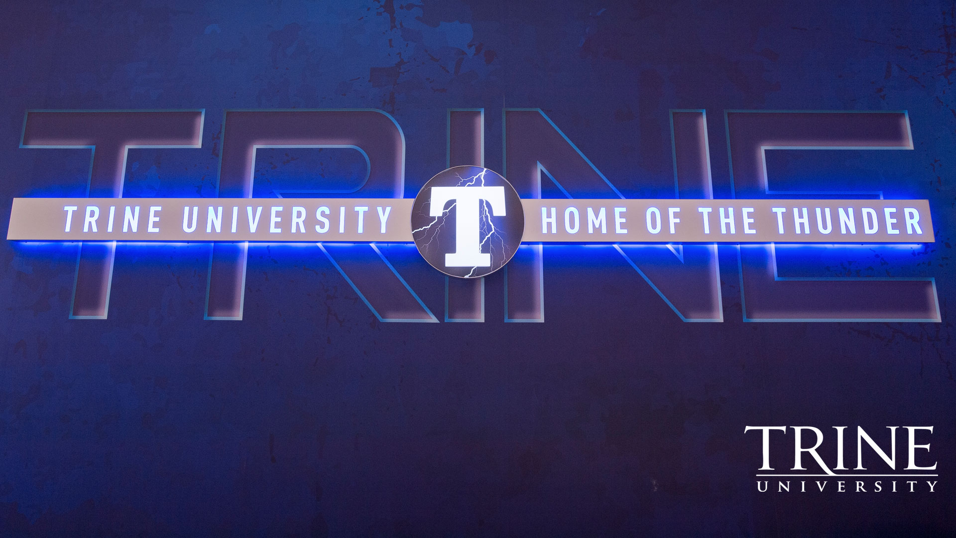 Trine Thunder Logo in MTI